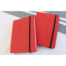 Red A6 Notebook